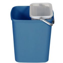Corbeille 25L Bleue
